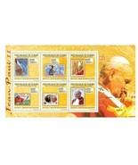 GUINEA #2-1 2010 POPES ON STAMP ON STAMP 13487-10 - €13,16 EUR