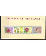 FLOWERS TREE PLANTING  4  SHEETS MINT NATURE  6251RR-1 - €5,35 EUR