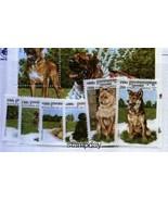 CAMBODIA 1999  DOGS SHIH TZU LHASSA APSO TIBETIAN TERRIER SPANIEL TOSA  ... - $143,60 MXN