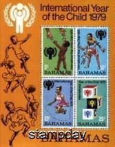 BAHAMAS 1979 IYC  S/S MNH 1173xmk - $4.43