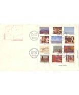 CANADA 1982 FDC S/S 12 PAINTINGS   4832RD - €13,11 EUR
