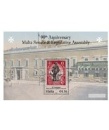 MALTA 2011 STAMP ON STAMP SOUVENIR SHEET 90th Anniversary  14968-25 - $10.77