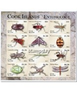 COOK ISLANDS 2013 ENTOMOLOGY BUGS INSECTS MINI SHEET MNH 16278-4 - €38,47 EUR