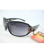 FOSTER GRANT BLACK SUNGLASSES SIDE METAL DESIGN REMEMBRANCE OL1110 - $14.99