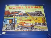1956 LIONEL CATALOG- UNCIRCULATED