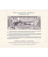 USA 1971 C68 ANA CARD $1 SILVER DOLLAR CERTIFICATE REPRODUCTION 6144 - £22.28 GBP