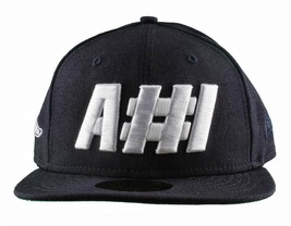 Hall Of Fame A #1 A1 Black White Embroidered Fitted Baseball Cap Flat Brim Hat