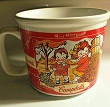 CAMPBELLS SOUP KIDS COFFEE CUP MUG,WINTER AND FALL 2000 EDITION-HOUSTON ... - $5.02