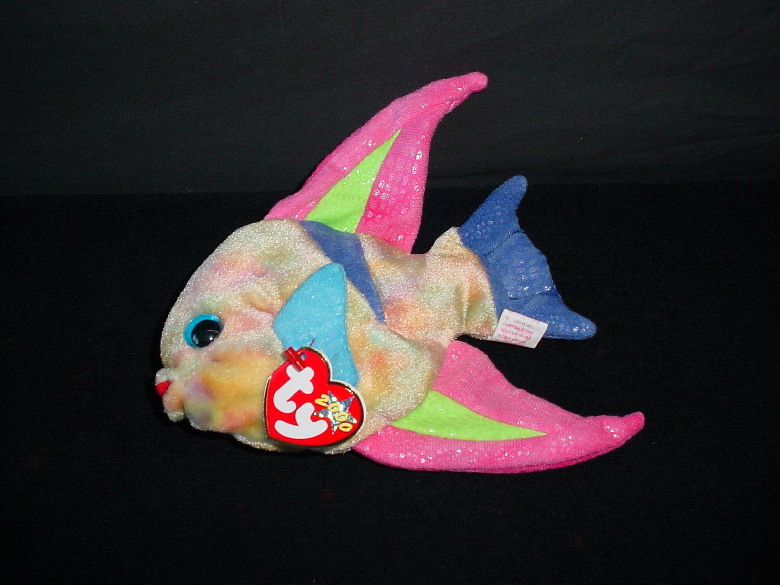 57. 57. Ty Beanie Babies Aruba Fish Retired Original Plush Baby Toy NWT Tag  New 2000. Free Shipping 0206e7d17fd3