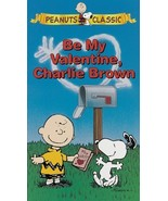 Peanuts: Be My Valentine Charlie Brown [VHS] [VHS Tape] (1996) Duncan Wa... - $1.97