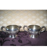 "Vintage Wm.A. Rogers ""Old English Reproduction"" Silverplate Creamer and ... - $22.95"