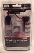 Monster iCarPlay Wireless 800FM Transmitter & Charger for iPod/iPhone NE... - $19.94