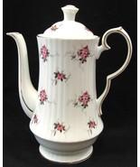 Princess House Coffee Pot Windsor Rose Hammers... - $40.00