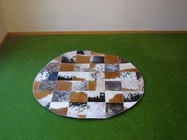 Cowhide rug Cupido 652 - 4x4 ft. (122x122 cm) - $379.00