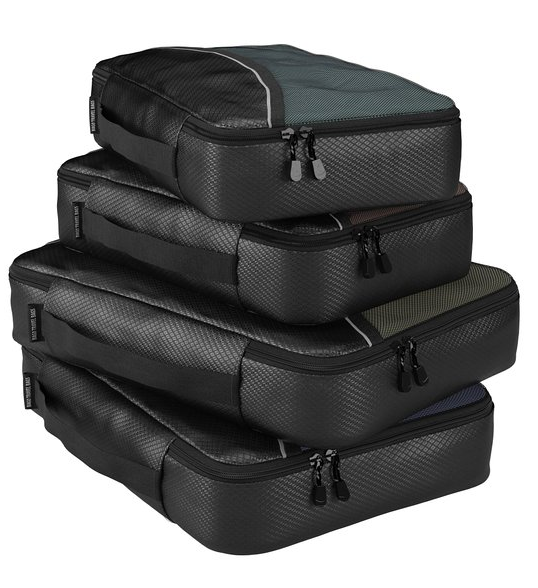 Packing Cubes For Travel Organizer - Packing Bags Luggage And Suitcase - 4pc Set