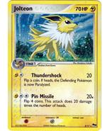 Jolteon 3/17 Holo Rare POP 3 Promo Pokemon Card - $56,97 MXN