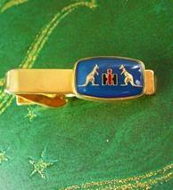 KANGAROO Tie Clip Vintage Australia Boxing Hi IH Designer Lega Men's Tie... - $70.00