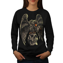 Condor On Skull Jumper Horror Women Sweatshirt - $18.99