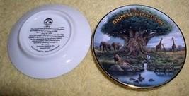 Animal Kingdom Tree of Life Disney miniature plate Original Box - $22.09