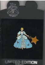Cinderella Holiday Dangler Authentic Disney  on card  LE 250 Pin - $155.99