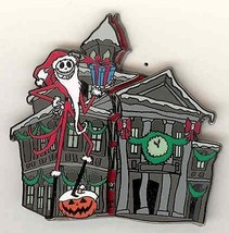 DL Haunted Mansion Holiday Sandy Claws NMBC Authentic Disney pin - $85.74