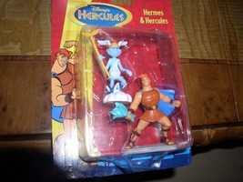 Disney Hermes and Hercules carded  toys - $29.02