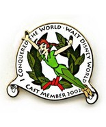 Disney WDW - I Conquered The World Cast Member Exclusive Peter Pan pin/pins - $34.99