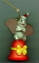 Dumbo on bell by Ralph Kent  Ornament Disney Artist Collection - $45.49