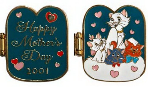 Duchess Berlioz Marie Toulouse authentic Mother's Day Disney Aristocats pin/pins