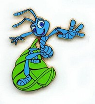 Flik Surfing on leaf full body Disney A Bug's Life authentic pin/pins - $19.99