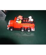 Fire Engine 71 Mickey Mouse with Dalmatian dog Walt Disney toy - $33.85