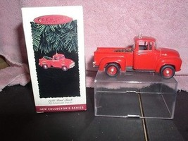 Ford Truck Ford 1956 Metal  Hallmark Handcrafed dated 1995 ornament - $25.65