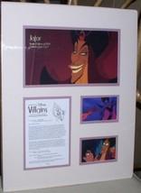 Jafar Aladdin Cast member Disney Villain   Lithograph LE 1500 - $99.99