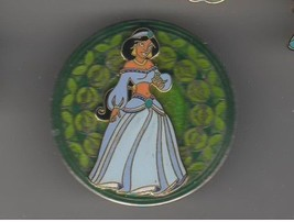 Jasmine  Stained Glass WDW from Aladdin authentic Disney Princess pin/pins - $29.39