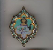Jasmine Princess Portraits 3D from Aladdin authentic Disney pin/pins - $29.99