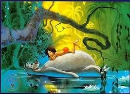 Jungle Book  Commemorative Gold Seal Disney Lithograph - $24.18
