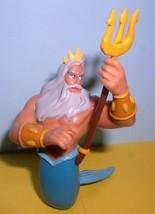 King Neptune Ariel's father from Little Mermaid  Disney  PVC figure - $14.99