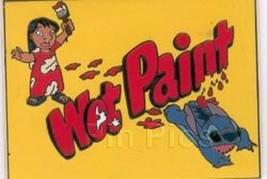 Lilo & Stitch Wet Paint  Authentic  WDW Cast Exclusive Disney Pin - $26.95