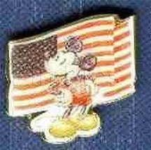 Mickey Americana Flag patriotic Authentic Disney pin/pins - $16.43
