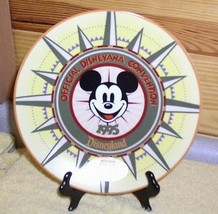 Mickey  Mouse DISNEYANA Convention 1995 PLATE Ship World - $19.95