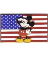 Mickey saluting USA  Flag Authentic Patriotic  Disney pin/pins - $29.99