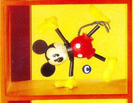 Mickey  nostalgic vintage reproduction  woodden Disney Figurine - $34.99