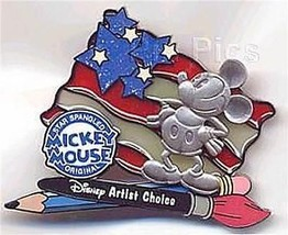 Mickey's Star Spangled Event Authentic Disney Artist Choice Patriotic pin - $21.99