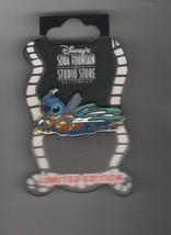 Stitch Swimming original card Authentic Disney LE 300 Soda Fountain pin - $129.99