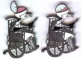 Scientist  Dr. Finklestein wheelchair Hinged Authentic Disney Pin - $25.99