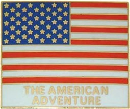 USA World Showcase Cast Member flag Authentic Disney Pin/Pins - $49.99