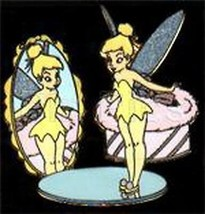 Tinker bell full body Mirror Japan Tinkerbell Tink Authentic Disney Pin/... - $24.18