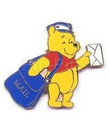 Winnie The pooh Mail Carrie Mailman Disneyland Authentic Disney Pin/Pins - $32.49