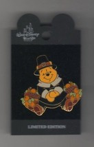 Winnie the Pooh Pilgrim WDW Thanksgiving AUTHENTIC Disney on card Pin - $19.99