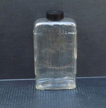 Owens Illinois 1+ Quart Ribbed Refrigerator Bottle Container w/Bakelite Cap - $29.99
